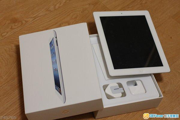 iPad 2 WiFi 64Gb 有原裝盒充電cable線