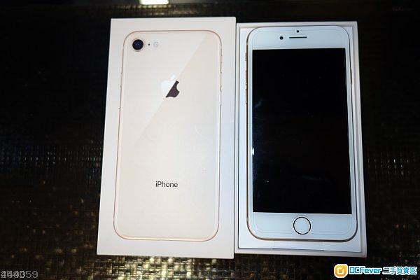 iPhone 8 64GB 玫瑰金 行貨 保養至2019年1月30日