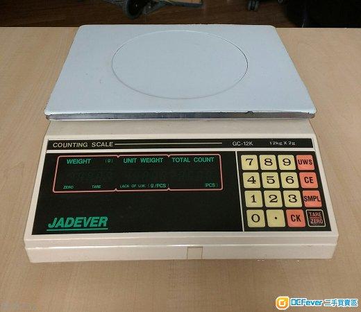 Jadever 點算電子磅Counting Scale  GC-12K