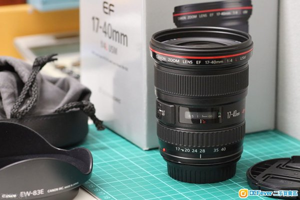 Canon EF17-40mm f/4L USM