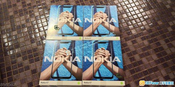【一年保養】國際版 ☗☗ Nokia X7 Nokia 8.1(128G/64G)☗☗驍龍710+全新(有影片介紹)