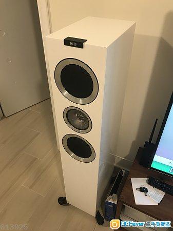 KEF R700 白色 座地 喇叭 white speaker