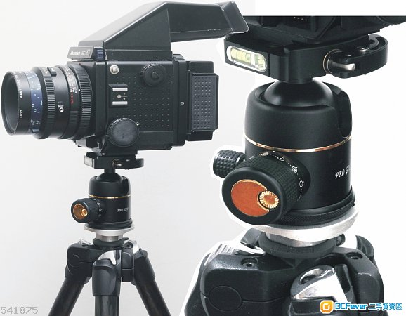 Photo Clam Pro Gold II Easy QR Ball Head 鍍金專業版波頭,夠力好用,韓國制造 (A7都啱)