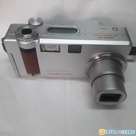Minolta DiMAGE F200,  2.8大光圈,金屬機身,經典之作,光陰不再