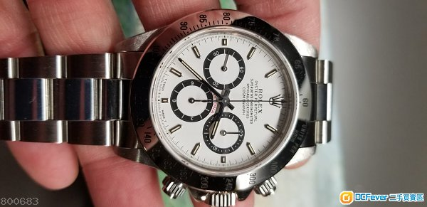 Rolex Daytona 16520 white dial 白面 full set