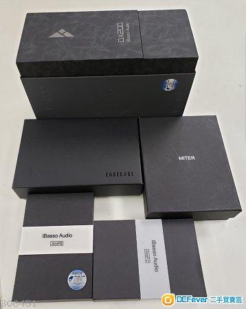 iBasso DX200 AMP1 AMP2 AMP8