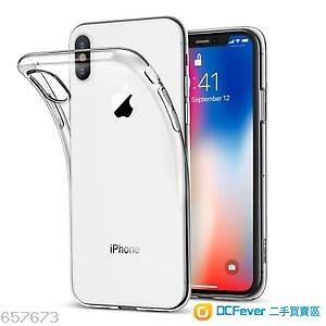 🔴全新iPhone X CLEAR Phone Case (Soft) 手機套