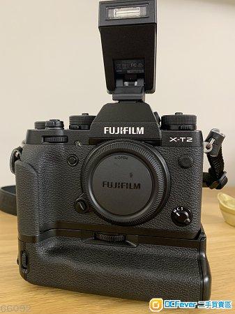 Fujifilm X-T2 機身 連 電池手柄