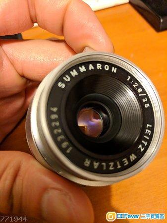 Leica summaron 35mm f2.8