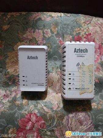 Aztech homeplug AV 200Mbps, 500Mbps 2 units