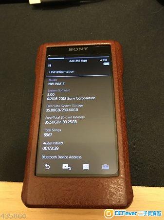 Sony WM1Z 金磚 99%新