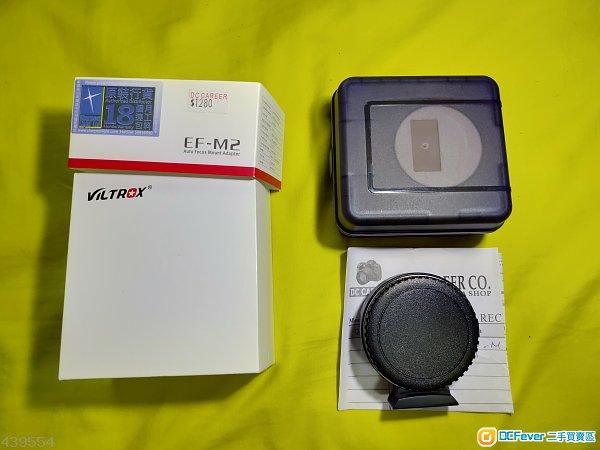 行貨 有保 ViltRox Ef-M2 自動對焦電子轉接環 canon to m43