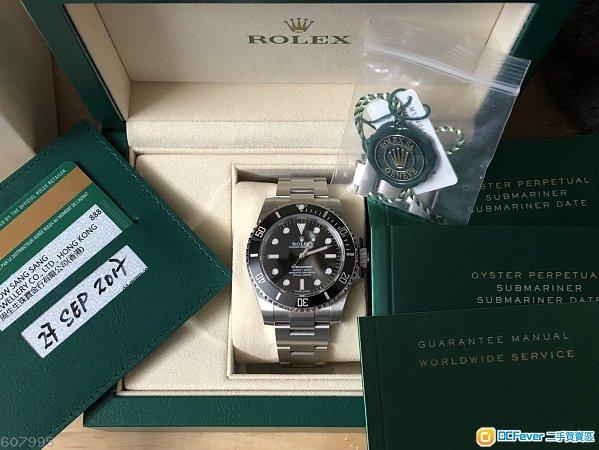 ROLEX Submariner 114060 盲十