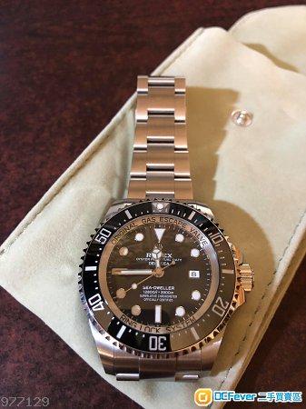 Rolex 126660 deepsea black