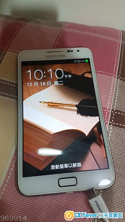 Samsung Galaxy Note N7000   90% new with Box 3 電池盒充