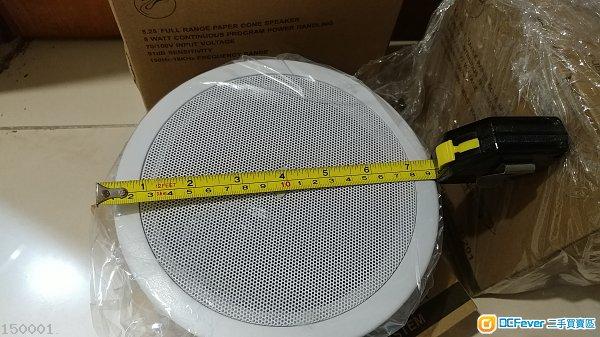 全新 天花喇叭 4隻  ceiling speaker 4pcs