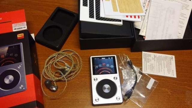 alo audio litz wire 耳機線 +shure 425耳機+FiiO X5二代播放器