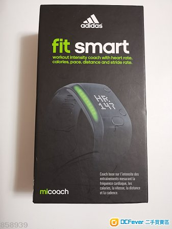 Adidas miCoach fit smart Wristband 健身和活動監視腕帶
