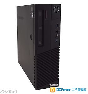 二手 Lenovo ThinkCentre M83 SFF i7-4770 4C8T 16GB Ram