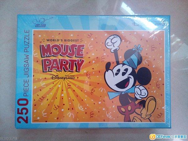 全新 正貨 Disneyland 迪士尼 砌圖 puzzle 連特別版閃卡4張