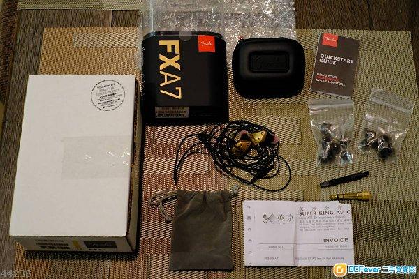 Fender FXA7 金色 Full Box Set 95%新行貨, 仲有保養