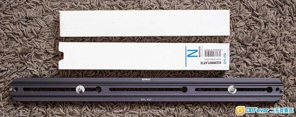 Novoflex QPL 450  Rails 長板 長軌(行貨有單,95%新)