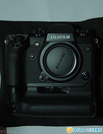 Fujifilm X-H1 + Grip + NP-W126S三粒
