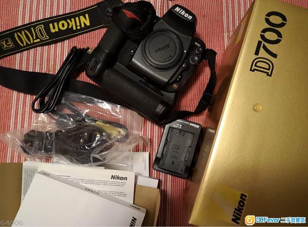 Nikon D700 + MB-D10原廠直度手柄