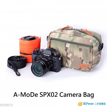 微單,無反小小相機袋, 迷彩,沙迷,全累,玫紅 牛仔布真皮相機帶