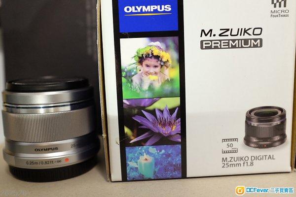 Olympus 25 mm f 1.8 (銀色)