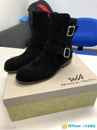 全新 Oriental Traffic 黑色 boot M size