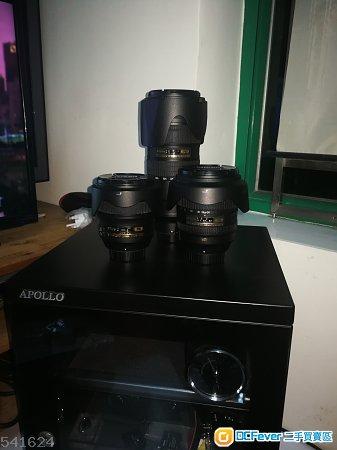 Nikon 3鏡 24mm F/1.4, 24-120mm F/4, 70-200mm F/2.8