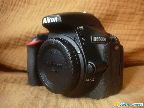 新淨__Nikon D5500 反mon 單反相機  ( 行貨有盒 )