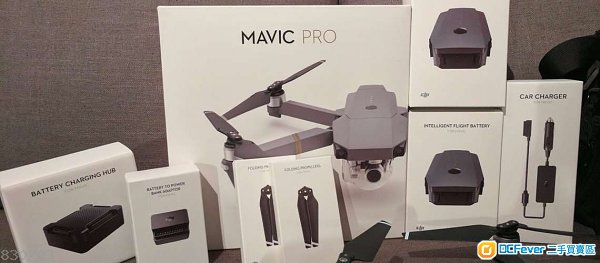DJI Mavic Pro Fly More Combo 99.9% 極新