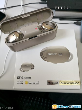 Sony WF-1000X 金色 95%新淨
