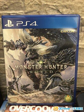 PS4 Monster Hunter World 香港行貨