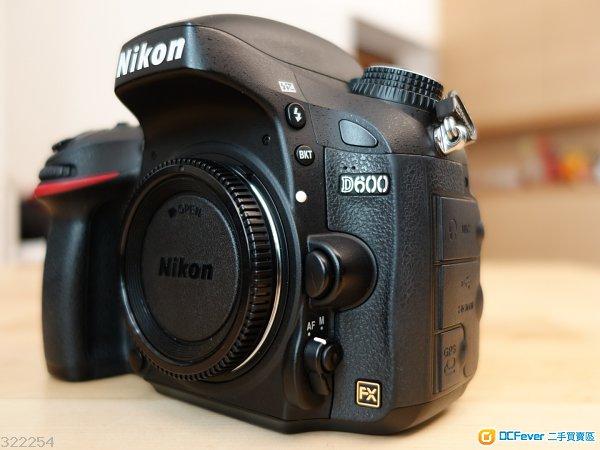 Nikon D600 body, AF-S 24-120mm 4G, AF-S 35mm 1.8G
