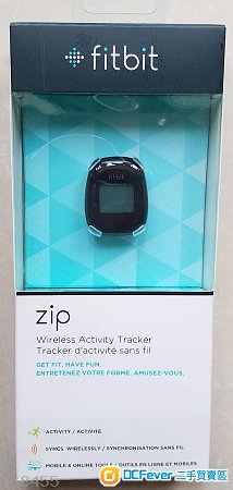 Fitbit ZIP, wireless activity tracker 運動追蹤器全新