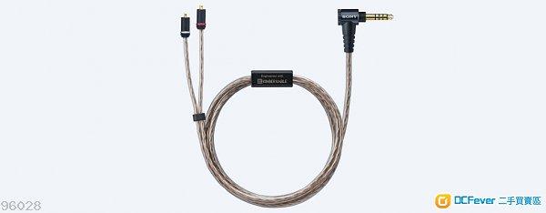 全新Sony MUC-M12SB1 Kimber Kable MMCX 4.4升級線WM1A WM1Z