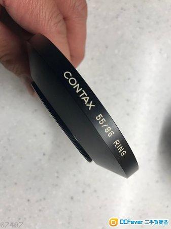 CONTAX 55/86  hood 遮光罩