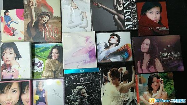 容祖兒 原裝正版 CD,DVD 共15隻