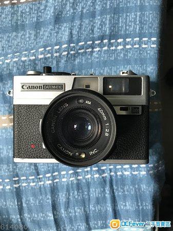 Canon Datematic 35mm F2.8 菲林傻瓜機