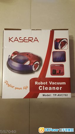 KASERA Robot Vacuum Cleaner TP-AVC702 (全新)