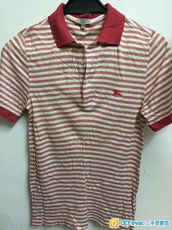 Burberry polo shirt red