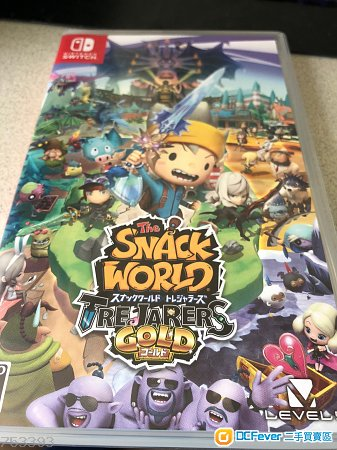 nintendo switch snack world
