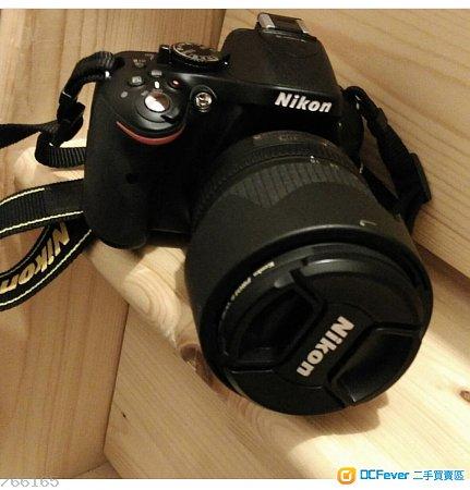 Nikon D5200單鏡反光數碼相機