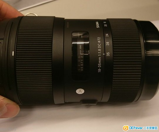 Sigma 18-35mm 1.8Art (Canon)