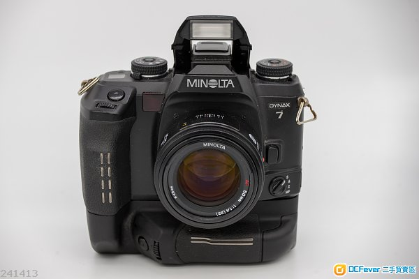 MINOLTA AF 50mm f1.4 95%新 with original box (a7 配laea4可用)