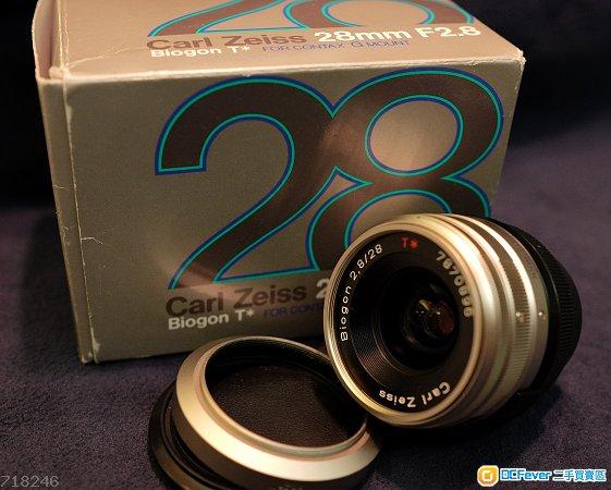 Contax G Carl Zeiss 28mm f/2.8