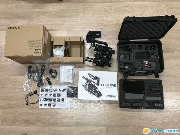 Sony fs5 + RAW + Atomos Shogun + RIG ,a7sII,fs7 九成半新